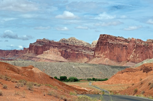 Bidding farewell to Capitol Reef.