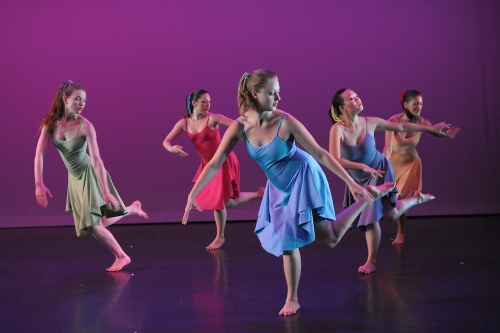 "What makes this image different from most of my dance images? Actually, it's not ""what,"" it's ""where."""